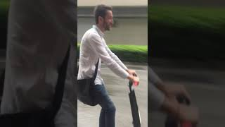U1 electric scooter in Canton fair