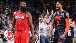 Paul George's Clutch 3 Ruins James Harden's 39-point Night | Rockets Vs. Thunder | NBA Highlights