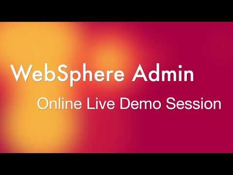 ibm websphere training || websphere application server tutorial ...