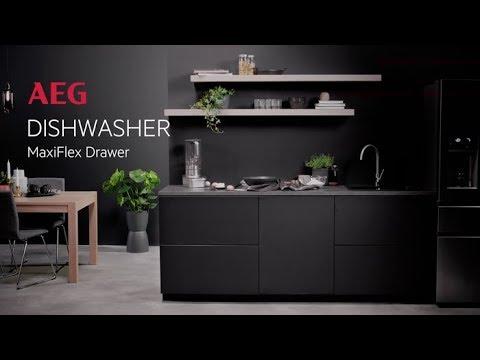 AEG Freestanding 60 Cm Dishwasher FFB53940ZM - Stainless Steel Video 2