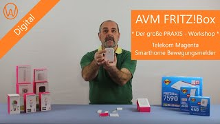 AVM FRITZ!Box & Telekom Magenta Smarthome Bewegungsmelder