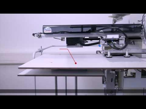 Швейный автомат для настрачивания подзора передних карманов к мешковине BASS 5300 ASS video