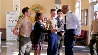 Pacific Air Commander, General Charles Q. Brown, USAF, to teach local students