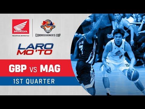 [Sport5]  GlobalPort vs. Magnolia – Q1   PBA Commissioner's Cup 2018