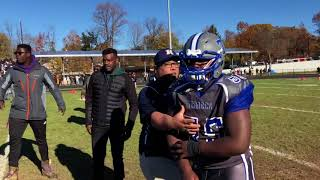 Fight breaks out between Hackensack and Teaneck football teams