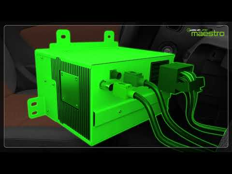Video tutorial showing how to complete the  installation of the CAM1 and Maestro module.