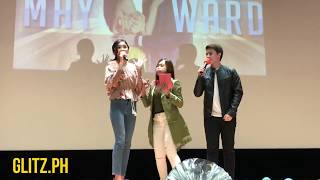 MayWard gave select fans a chance for some Q&A in Taiwan
