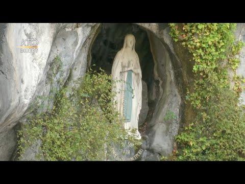 Chapelet du 23 octobre 2020 à Lourdes