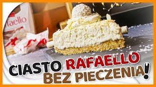 ???? Ciasto bez pieczenia - RAFFAELLO - kokosowe wiórki w delikatnym kremie SZYBKIE CIASTO