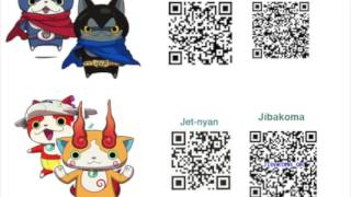 Yokai Watch 2 Qr Codes Videos