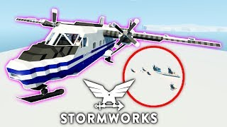 Plane Crash Rescue!  -  Camodo  -  Multiplayer  -  Stormworks: Build and Rescue