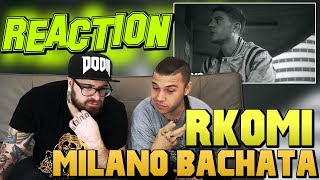 RKOMI - MILANO BACHATA ft. MARRACASH | RAP REACTION 2017 | ARCADE BOYZ