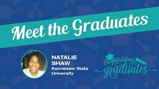 Meet the Graduates – Natalie Shaw