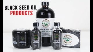 BioNatal Nigella Sativa products