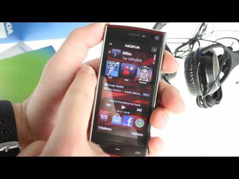 Nokia X6 unboxing