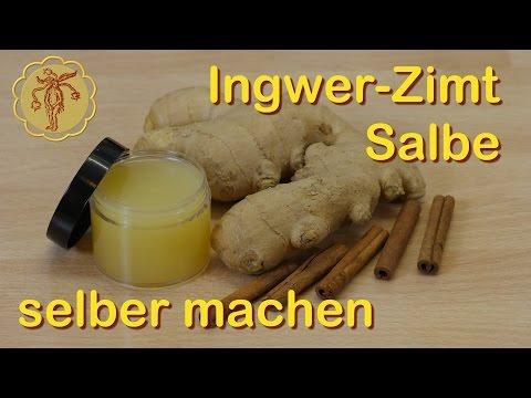Ingwer-Zimt-Salbe gegen kalte Füße selber machen