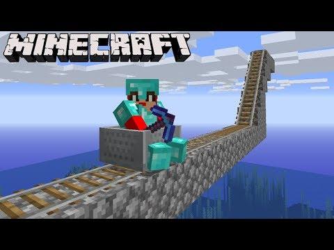 Minecraft: DUPLA SURVIVAL - VOU CONSTRUIR uma MONTANHA RUSSA! #53