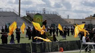 Floresville Band in East Central Hornet Invitational Marching Contest 2019 - 1st Place Champs 🏆
