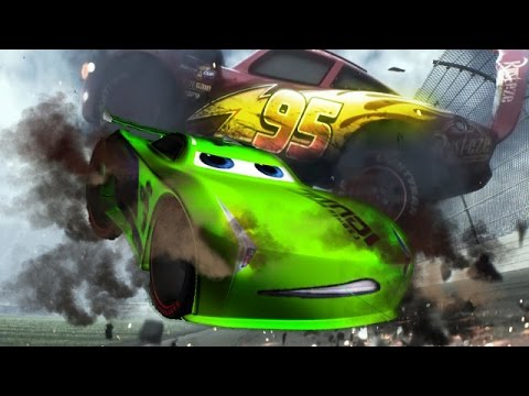 Spiderman And Colors Jackson Storm Cars 3 McQueen Crash Cruz Ramirez Tow Mater Mack Truck