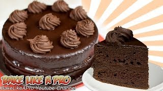 Chocolate Mousse Cake Recipe ! - Ultimate Chocolate Cake Recipe !