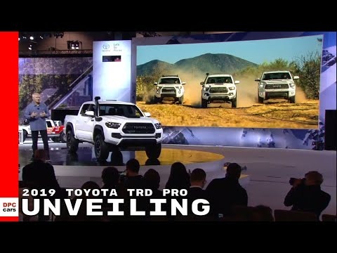 2019 Toyota TRD Pro 4Runner, Tacoma, & Tundra Unveiling