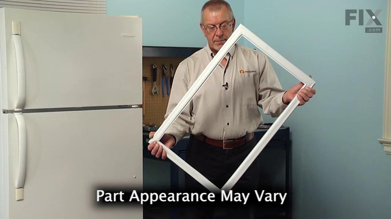 Replacing your Frigidaire Refrigerator Freezer Door Gasket