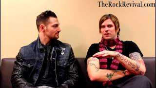 Hinder Interview with Austin Winkler on 2013 Welcome To The Freakshow Tour