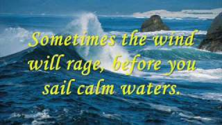 Sometimes It Takes A Storm by Jessica King - Video with Lyrics