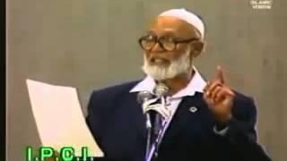 Gambar cover Sheikh Ahmad Deedat talking about Palestine