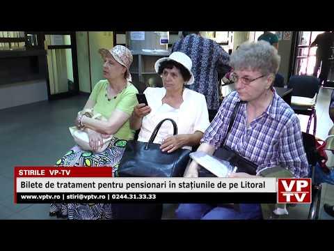 Bilete de tratament pentru pensionari în stațiunile de pe Litoral