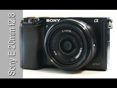 Sony 20mm pancake Lens SEL20F28 In Depth Review on Sony a6000