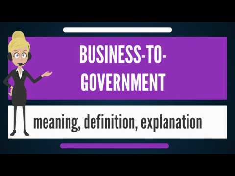 mp4 Business To Government, download Business To Government video klip Business To Government