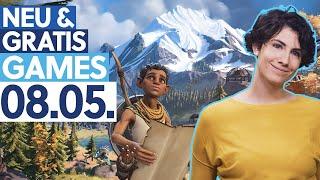 KOSTENLOSES Open-World-Abenteuer im Zelda-Stil - Neu & Gratis-Games