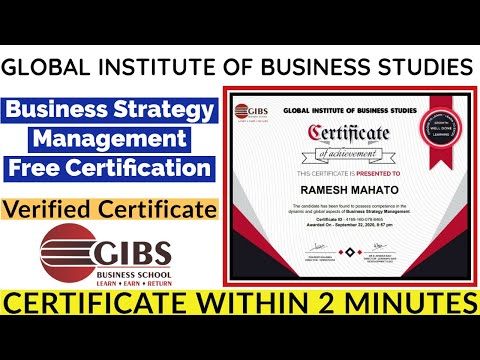 Global Institute of Business Studies | Business Strategy ... - YouTube