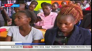 Youth in Nyeri are being encouraged to taken on online work through Ajira
