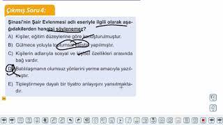 Eğitim Vadisi AYT Edebiyat 28.Föy Tanzimat Tiyatrosu 1 Konu Anlatım Videoları