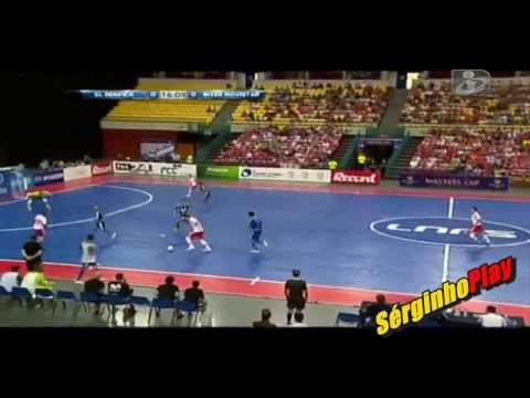 VIDEO: SL Benfica vs Inter Movistar 2-3 Futsal - Resumo e Golos - Master CUP 2015 (23/08/2015)