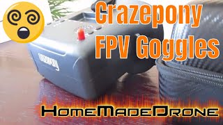 Crazepony FPV Goggles Review