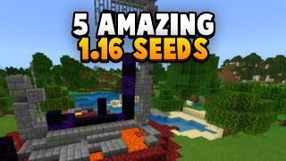 5 Amazing Nether Update Seeds Minecraftvideos Tv