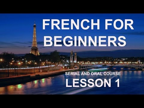 Lesson 1 - Do you want to Learn French Online for Free? Manesca ...
