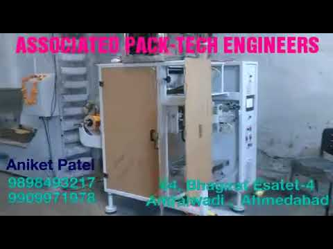 Soya Vadi Pouch Packing Machine