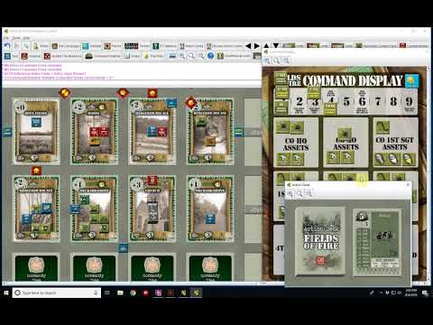 Fields of Fire Normandy Campaign Mission 1 Turn 7