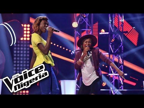 Chiche vs Precious sing Kedike - The Voice Nigeria 2016