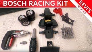 Bosch Grand Prix Case IXOLINO Racing Car & Screwdriver & Electric Drill