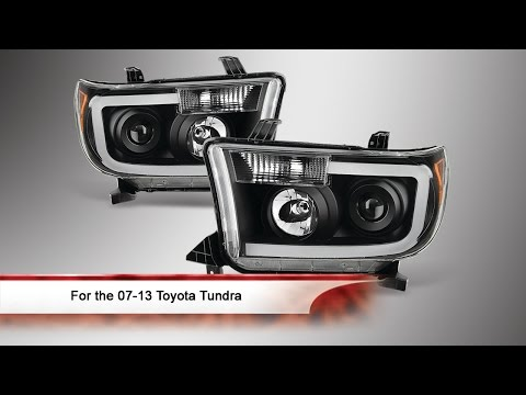 07-13 Toyota Tundra Light Bar Projector Headlights Mp3