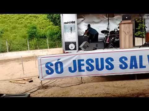 Passando o som para culto de missões em Barra do Jacaré