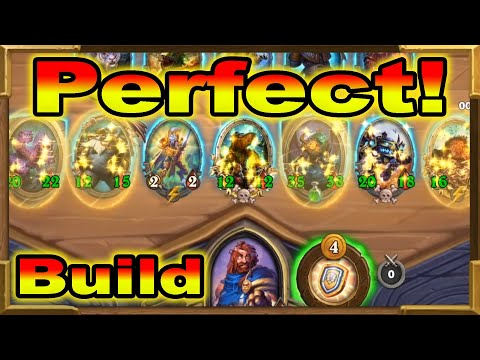 Hearthstone Battlegrounds: The Perfect Build! Best Against Junkbot! The Biggest Hydra I Ever Had!