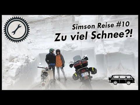 Rumänien: Durch Schnee und Eis über die Karpaten - 2RadGeber Simson Reise #10