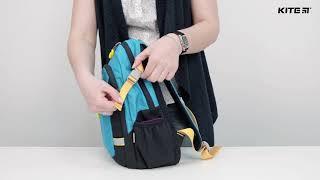 """Рюкзак детский K18-544S-1 ( 4-6 лет) от компании Интернет-магазин """"Радуга"""" - школьные рюкзаки, канцтовары, творчество - видео"""