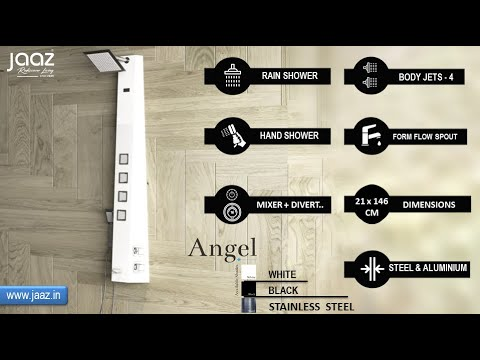 Angel Steel Matte Shower Panel